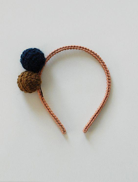 the | knit ball | headband