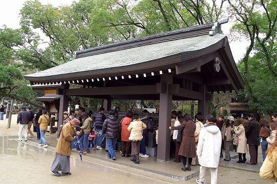 Người Nhật có truyền thống đi chùa đầu năm