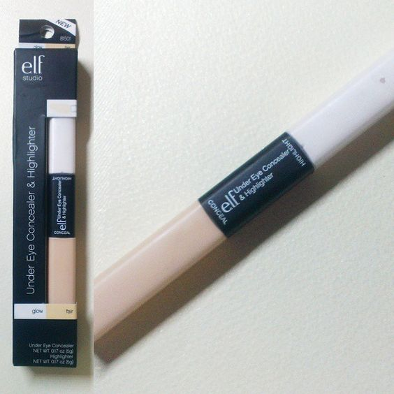 Under eye highlighting concealer