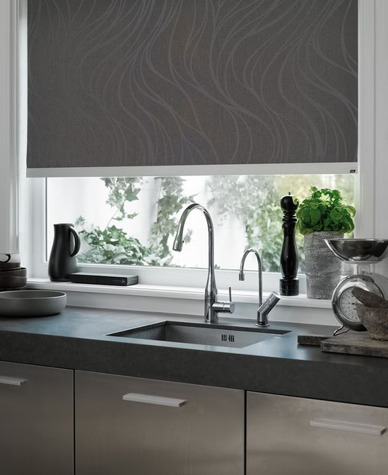 Sleek Simplicity Perfect For A Kitchen Hunter Douglas