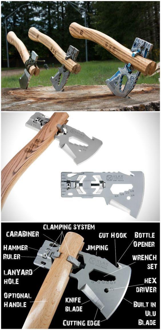 Klax - The Versatile Light-weight Multi-tool Axe From Klecker ... Klax Multi Tool Kombination Axt Hammer