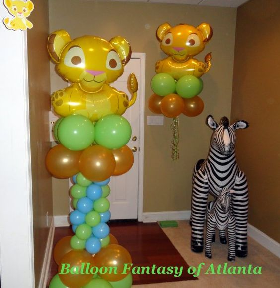 Lion King Theme Baby Shower But Instead Of The Zebra We Need A Giraffe :)