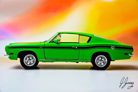 1969 Plymouth Barracuda Print by Joshua Zaring.  All prints are professionally…