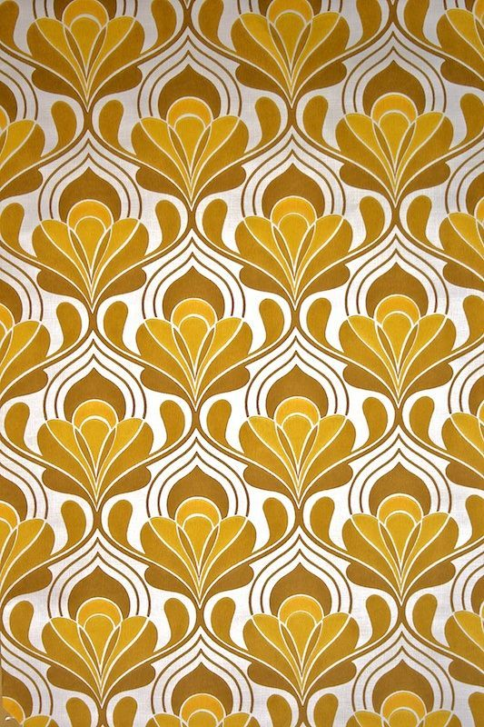 Original retro wallpaper & vinyl wallcovering from the sixties & seventies - A unique collection of original 1950's to 1980's wallpapers for...