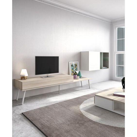 Banc Tv Design Arya Atylia + Meuble Rangement BONJOUR MON COUSSIN