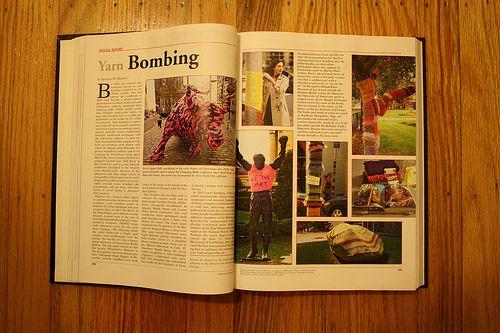 yarnbombing in the encyclopedia britannica