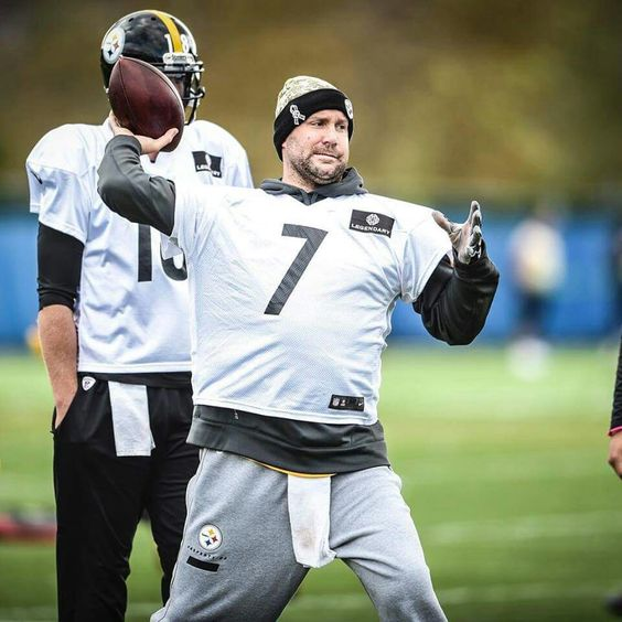 BEN SAYS NOT LANDRYS LOSS, BUT HE WAS PRACTICING TODAY TUES OCT. 25