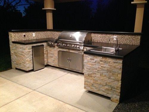 Colorado U Island Plan With Images Outdoor Kitchen Patio Outdoor Kitchen Island Outdoor Kitchen
