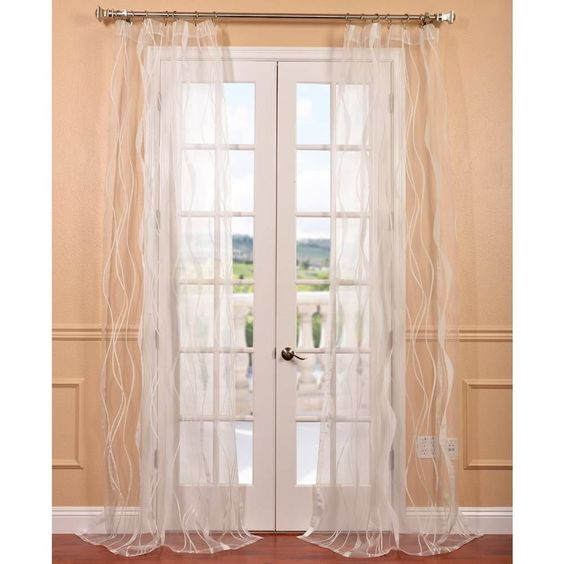 Florina White Patterned Sheer Curtain Panel New House Ideas Pinterest Curtains Curtain