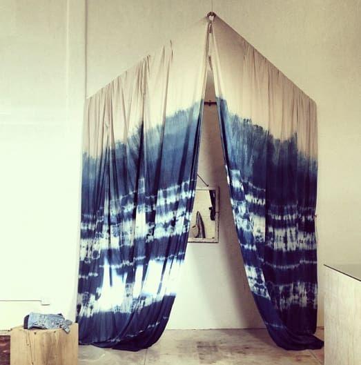 Indigo Shibori Dressing Room By Lookout And Wonderland At General
