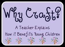 Kindergarten & Preschool for Parents & Teachers: Why Craft? Why Art?