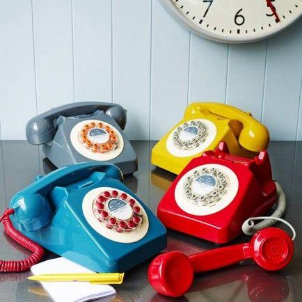 746 Desk Telephone (mustard) - Office - House - House