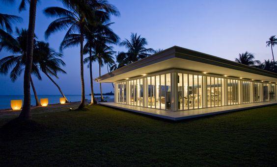 Heavenly Retreat   Koh Samui - Glasfassaden für Panoramablicke