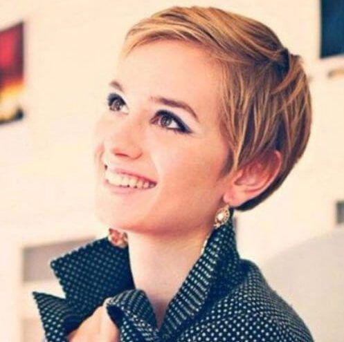 Cute Short Sleek Pixie Haircuts For Round Faces Thin Straight Hair Short Hair Styles Short Hair Styles Easy