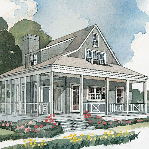 House Plans Transformed See It Built Beach Cottage House Plans Southern Living House Plans House Plans