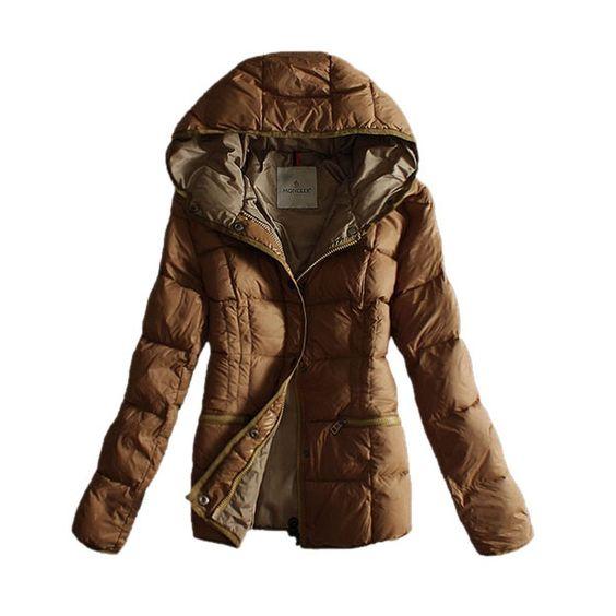 Jacken Damen Moncler Rein Mode Khaki Moncler outlet Spätester