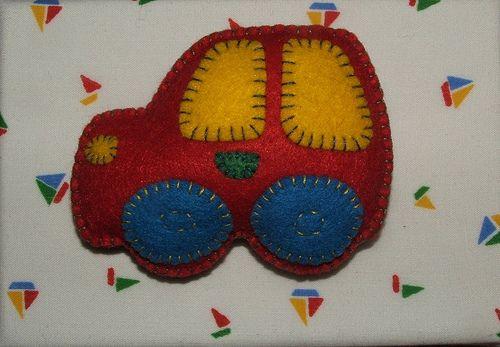 Carrinho de feltro | Este carrinho faz parte de um projecto … | Flickr
