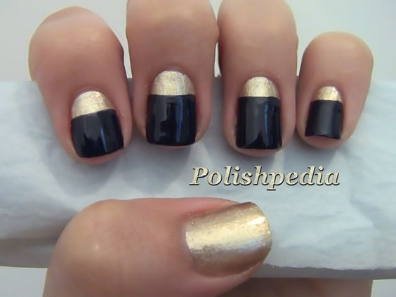 Classical Chic Nail Design