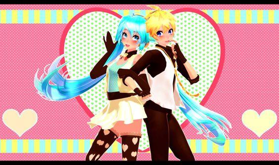 Vocaloid Miku x Len