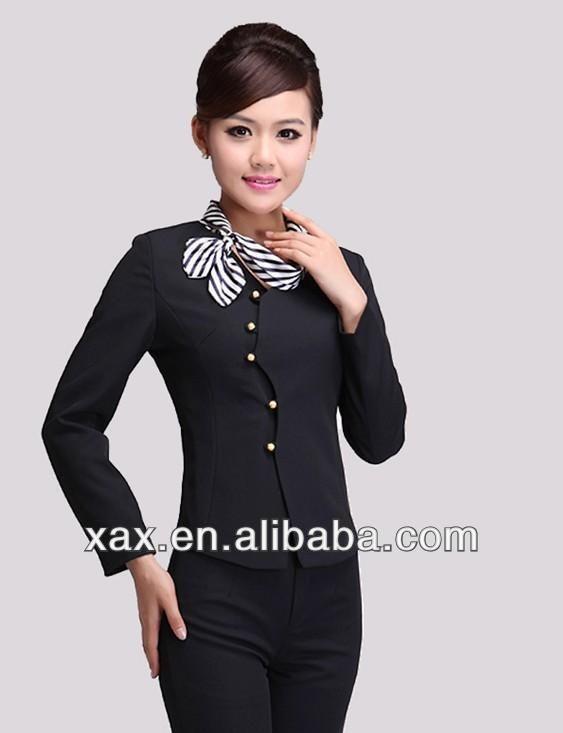 Hotel receptionist uniforms latest design hotel for Uniform for spa receptionist