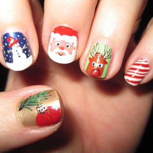 51 Festive Christmas Nail Art Ideas Holiday Nail Designs 2020 Guide Cute Christmas Nails Holiday Nail Designs Christmas Nail Designs Easy