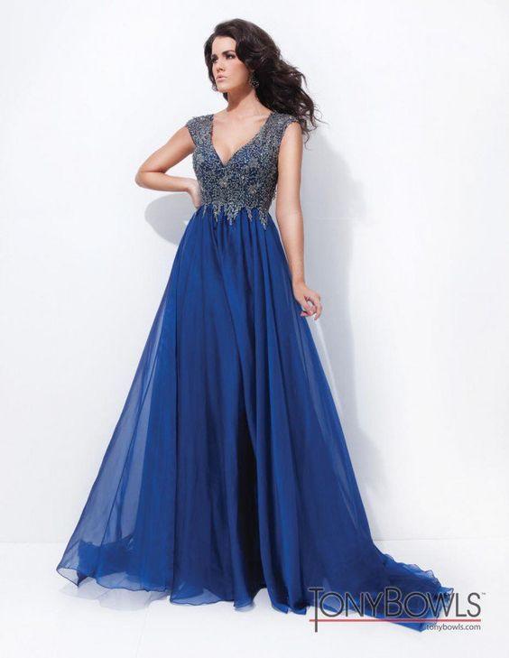 Modernos Vestidos, Elegantes Vestidos, Vestidos Preferidos, Vestidos Ropa, Bowls Vestidos, Vestidos Azules, Vestidos Magníficos, Trajes, Vestidos De Fiesta