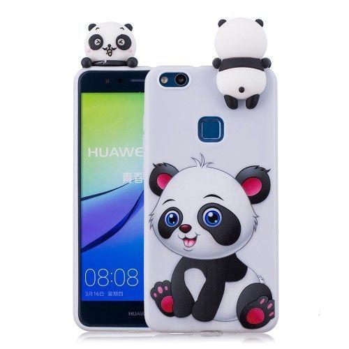 Coque Panda 3D Huawei P10 Lite en silicone - Panda souriant | 3d ...