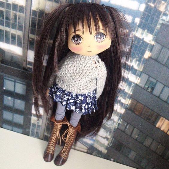 Куколка готова;) через час выложу ее на аукцион, приглашаю желающих;) #аукцион #аукционы #аукционкукла #аукционсейчас #кукла #куклы #куколка #олли #обувьдлякукол #одеждадлякукол #ручнаяработа #авторскаякукла #авторскаяработа #doll #dolls #artdoll #textilledoll