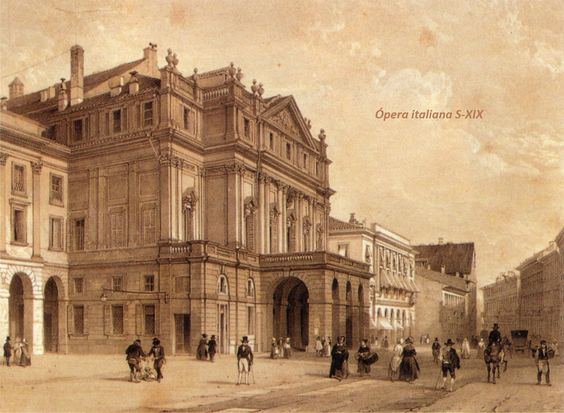 opera italiana siglo XIX