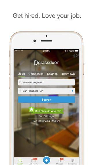 Glassdoor Job Search, Salaries \ Company Reviews by Glassdoor - best job search apps