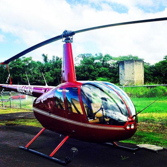 R44 Doors Off Volcano Tours