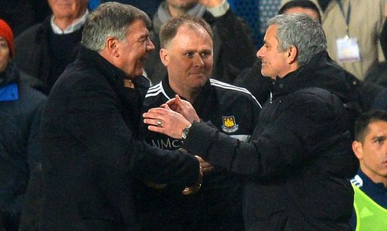 Mourinho sent thank you text to Allardyce moments after West Ham win