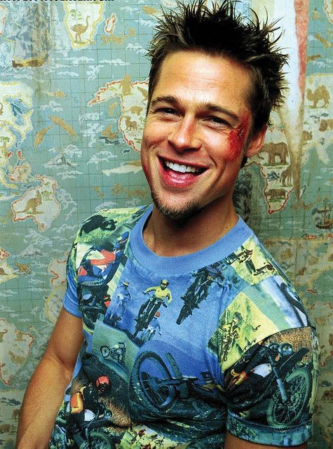 emphasis on Brad Pitt creates dominance because hey, it's Brad Pitt