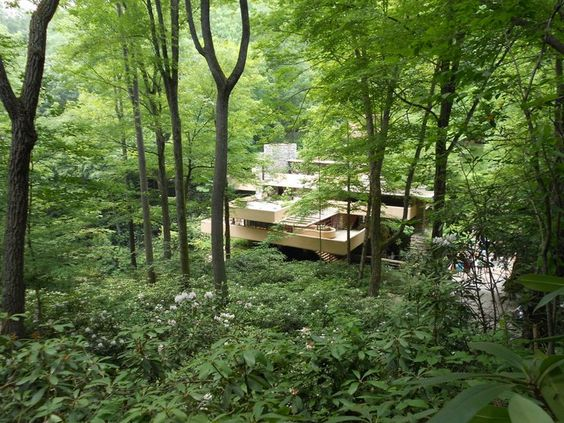 falling water house. FLW