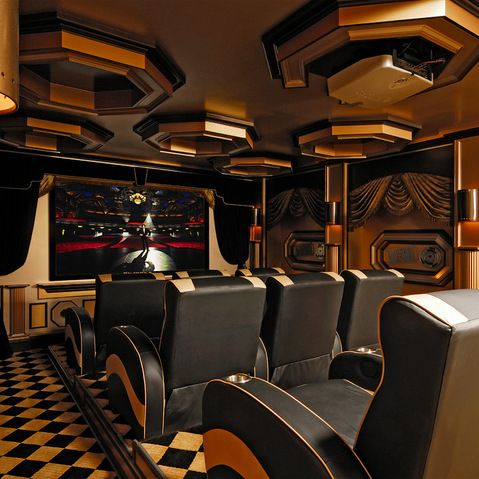 Designer Home Theaters \ Media Rooms Inspirational Pictures