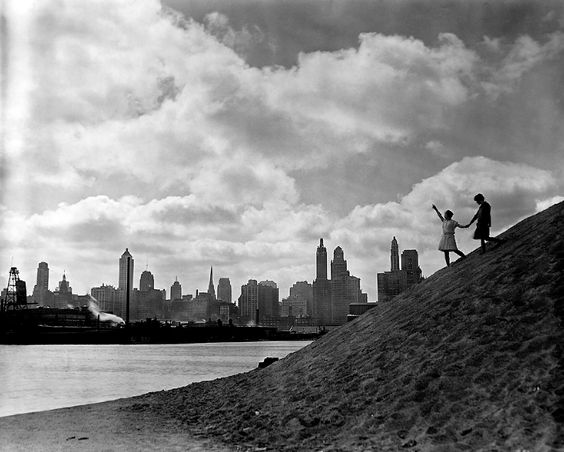 The Chicago Skyline, c.1920s. Photographer unknown.