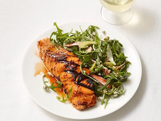 Buffalo-Style Salmon from #FNMag #myplate #protein