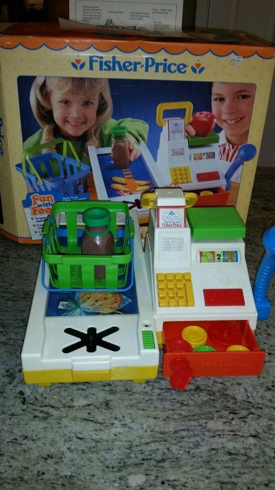 Vintage paper and fisher on pinterest - Cuisine bilingue fisher price ...