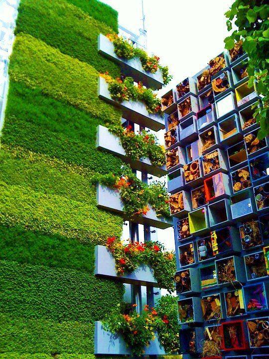 Arquitectura modular para almacenamiento vegetal for Arquitectura modular