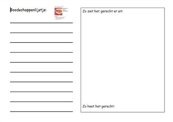 Werkblad bij taal op maat taal pinterest we ps and van - Werkblad bo is op maat ...