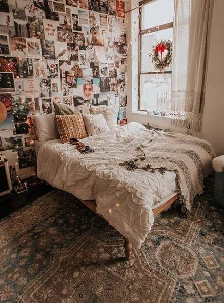 20 Trendy Bedroom Goals Tumblr Inspiration Picture Walls Aesthetic Bedroom Aesthetic Room Decor Bedroom Vintage