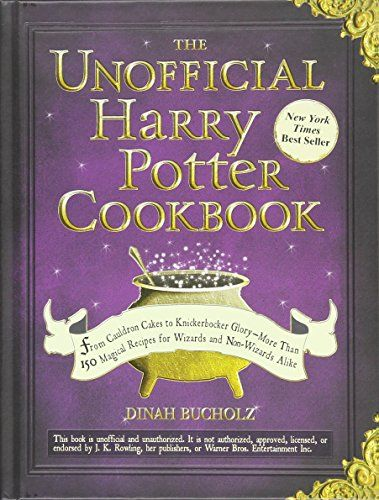 The Unofficial Harry Potter Cookbook: From Cauldron Cakes to Knickerbocker Glory--More Than 150 Magical Recipes for Wizards and Non-Wizards Alike von Dinah Bucholz http://www.amazon.de/dp/1440503257/ref=cm_sw_r_pi_dp_ww7Qwb0RFM9BX