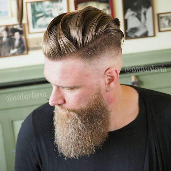 This is the best collection of undercut hairstyles for men EVER! Undercuts of the past were very straight forward and were very much a DIY at home type of hairstyle. Buzz the sides, leave the top longer and
