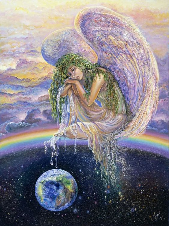 """""""Weep for the World"""" par Josephine Wall:"""