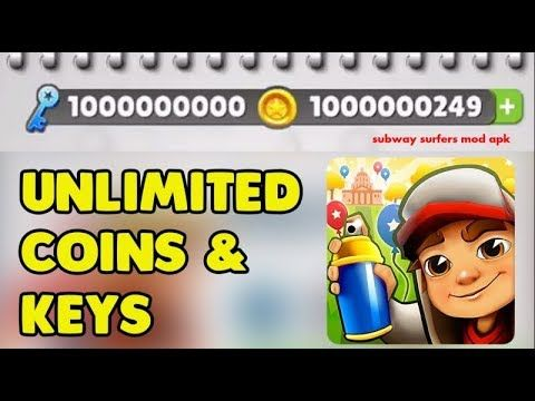 How To Get Unlimited Coins And Keys On Subway Surfers Subway Surfers Subway Surfers Game Subway Surfers Download