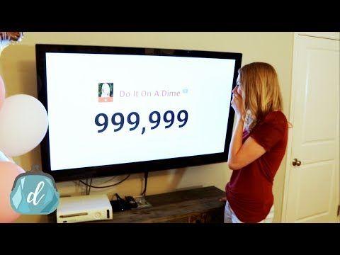 Do It On A Dime Youtube Dollar Tree Diy Crafts Diy On A Budget