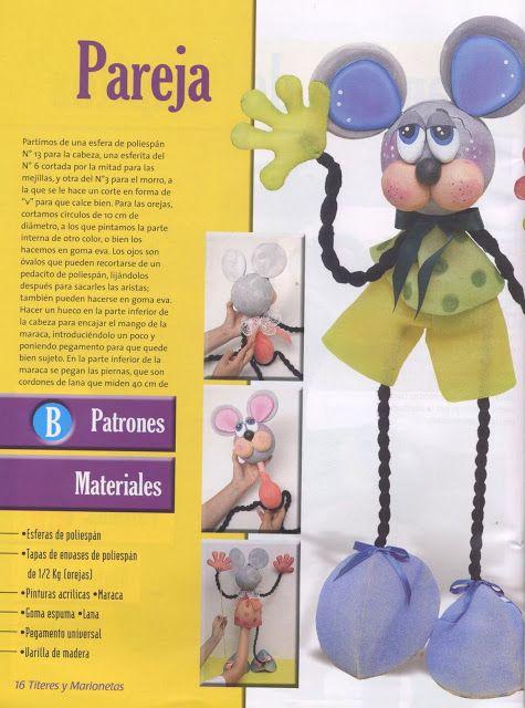 Los duendes y hadas de Ludi: Titeres y marionetas