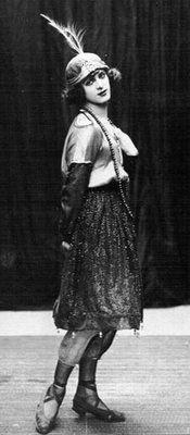 Reg Stone - female impersonator - 1930