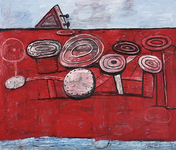 Philip Guston - Game (1978)