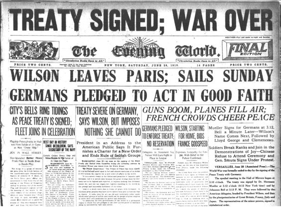 The Treaty Took Away GermanyS Army And Navy Description From